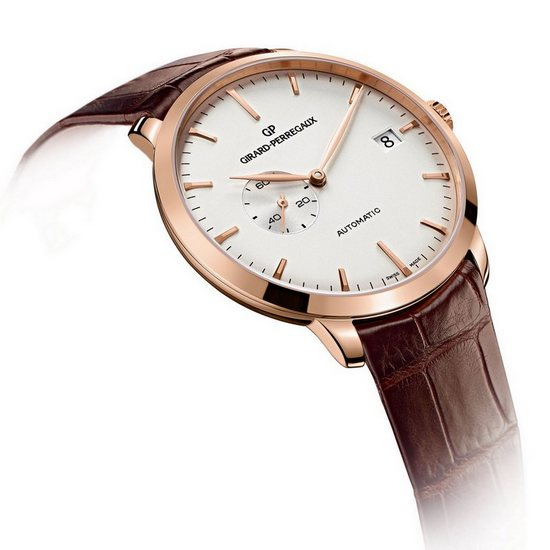 Girard-Perregaux 1966 Small Seconds and Date Watch Opaline Dial