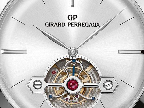 Girard-Perregaux 1966 Tourbillon with Gold Bridge - Dial