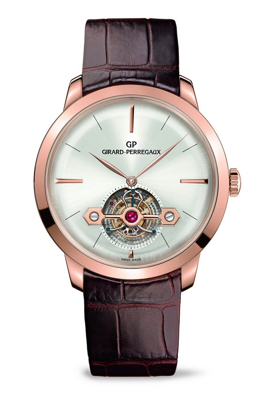 Girard-Perregaux 1966 Tourbillon with Gold Bridge - Pink Gold Watch