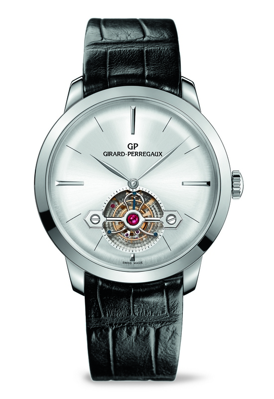 Girard-Perregaux 1966 Tourbillon with Gold Bridge - White Gold Watch