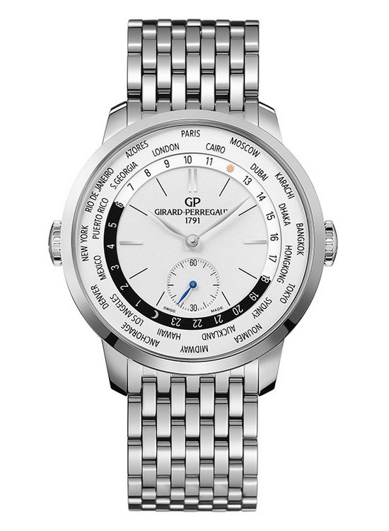 Girard-Perregaux 1966 WW.TC Watch Stainless Steel