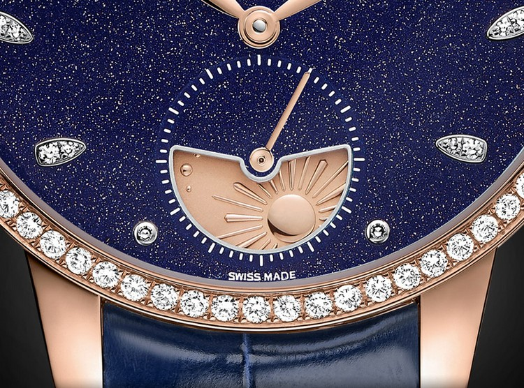 Girard-Perregaux Cat's Eye Aventurine Dial Watch - Day/Night Indicator