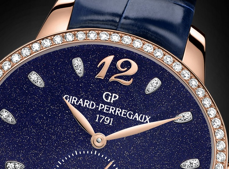 Girard-Perregaux Cat's Eye Aventurine Dial Watch Detail