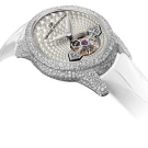 Girard Perregaux Cats Eye Jewellery Tourbillon Gold Bridge Watch Side