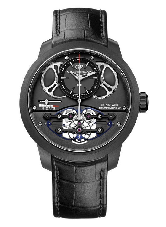 Girard-Perregaux Constant Escapement L.M. 2017 Watch Carbon-Titanium Composite