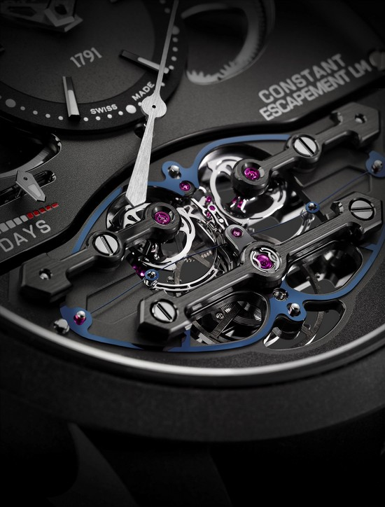 Girard-Perregaux Constant Escapement L.M. 2017 Watch Dial Detail