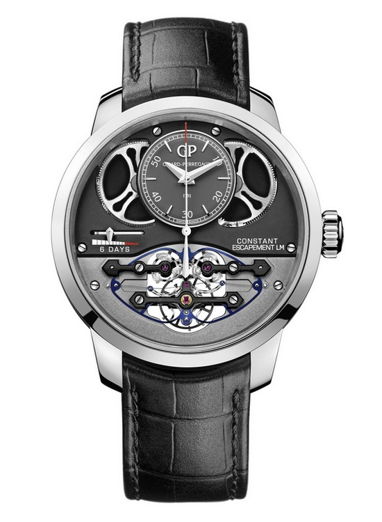 Girard-Perregaux Constant Escapement L.M. 2017 Watch White Gold