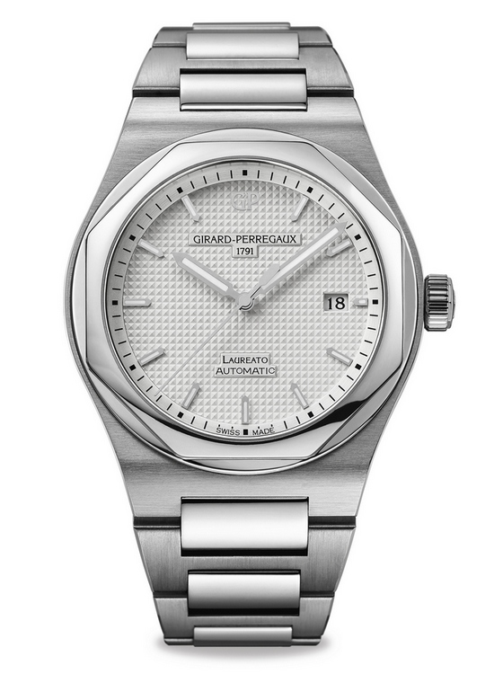 Girard-Perregaux Laureato 2016 Watch White Dial