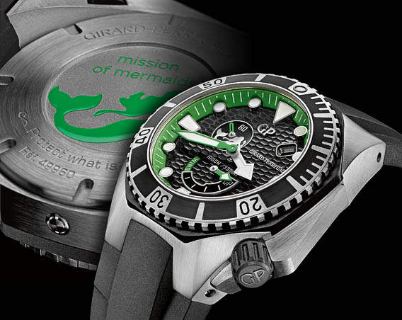 Girard Perregaux Sea Hawk Mission Of Mermaids Watch Case