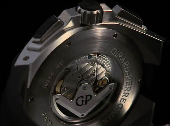 Girard-Perregaux Chrono Hawk Watch Caseback