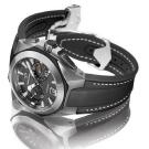 Girard-Perregaux Chrono Hawk Black Strap Watch