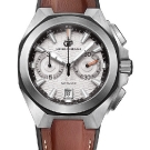 Girard-Perregaux Chrono Hawk Browan Strap Watch Front