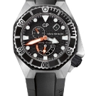 Girard-Perregaux Sea Hawk Rubber Bezel Watch Front
