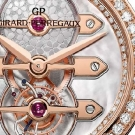 Girard-Perregaux Three Gold Bridges Tourbillon Ladies Watch Dial