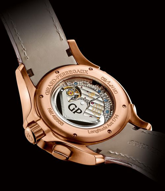 Girard-Perregaux Traveller Large Date, Moonphase & GMT Watch Back