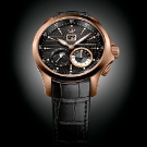 Girard-Perregaux Traveller Large Date, Moonphase & GMT Black Dial Watch