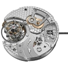 Girard-Perregaux Tri-Axial Tourbillon in White Gold Movement Dial Side