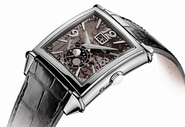 Girard-Perregaux Vintage 1945 Large Date, Moon-Phases 25882-11-223-BB6B Watch