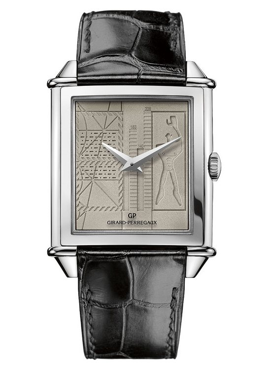 Girard-Perregaux Vintage 1945 Le Corbusier Limited Edition Watch - Front