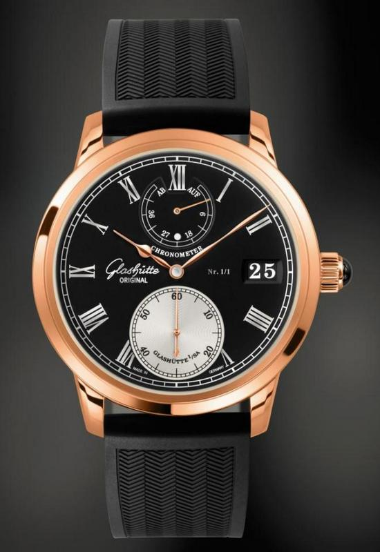 Glashütte Original Senator Chronometer Only Watch 2011