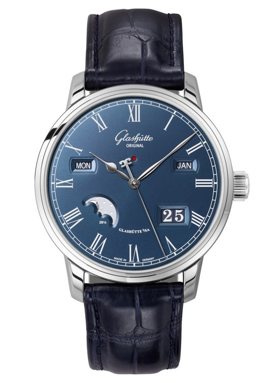 Glashütte Original Senator Perpetual Calendar Boutique Edition Watch Front