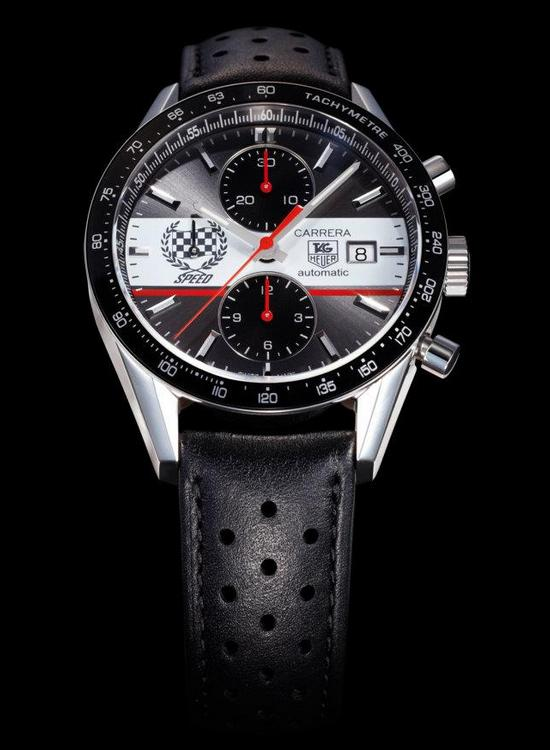 TAG Heuer Carrera Festival of Speed 41mm Chronograph Watch CV201AE