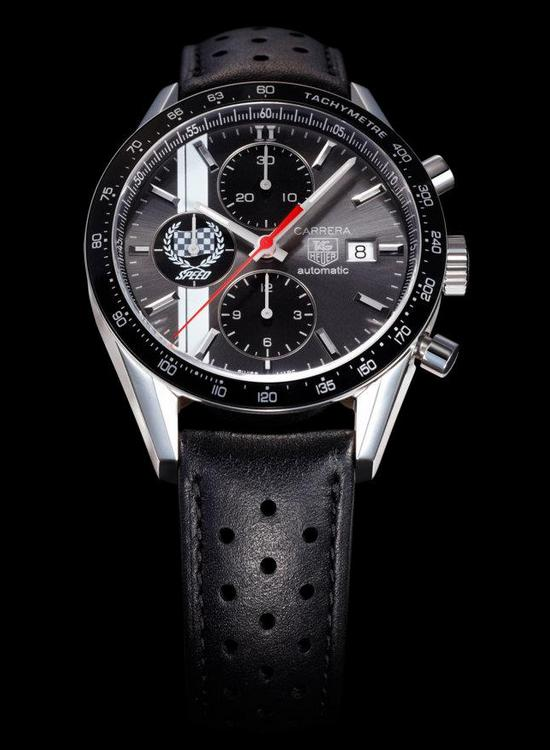 TAG Heuer Carrera Festival of Speed 41mm Chronograph Watch CV201AD