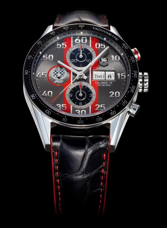 TAG Heuer Carrera Festival of Speed 43mm Chronograph Watch CV2A1J