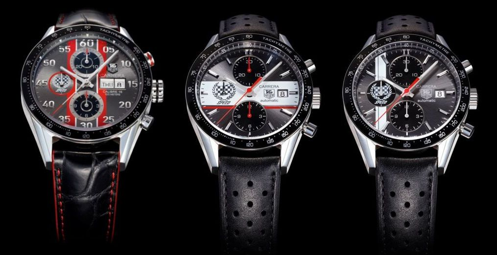 TAG Heuer Carrera Festival of Speed Watches