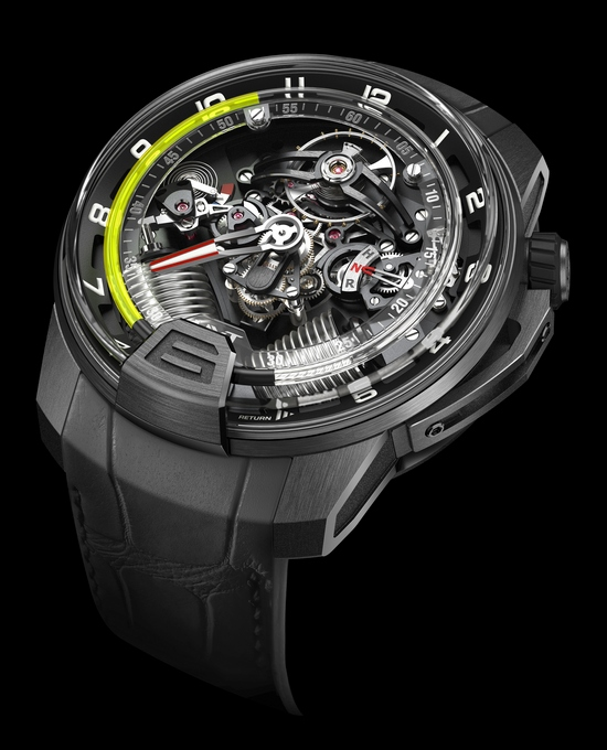 HYT H2 Hydromechnical Watch