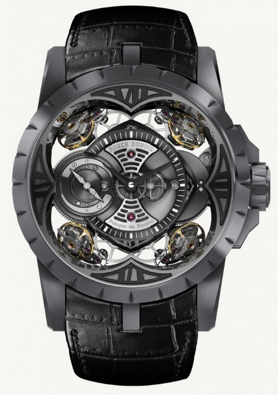 Roger Dubuis Excalibur Quatuor Silicon Watch