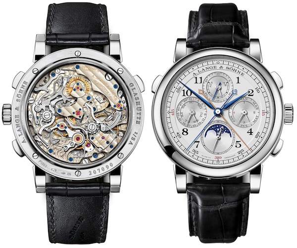 A.Lange Sohne 1815 Rattrapante Perpetual Calendar Watch