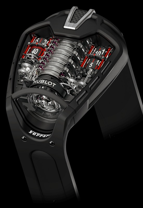 "Hublot Masterpiece MP-05 "" La Ferrari""  Watch"