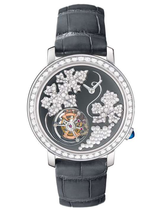 Boucheron Epure Tourbillon Vitis Watch