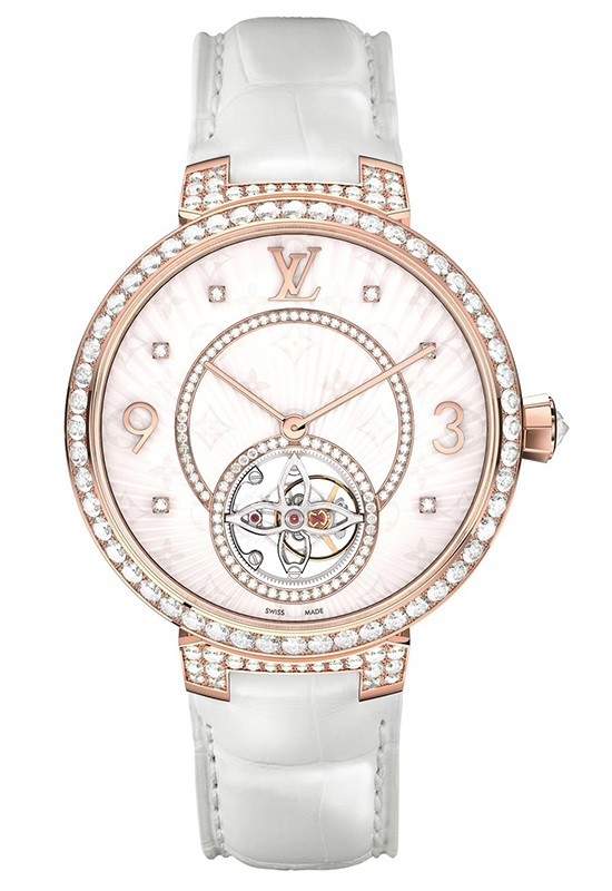 Louis Vuitton Tambour Monogram Tourbillon Watch