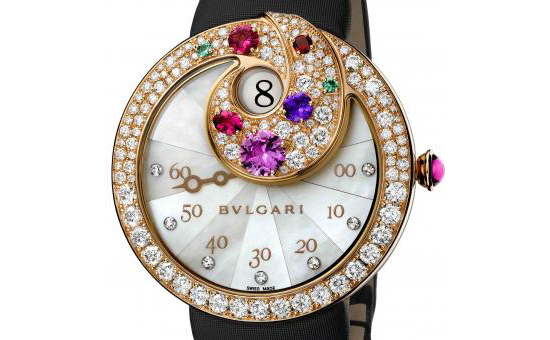 Bulgati Jumping Hours Retrograde Minute Watch