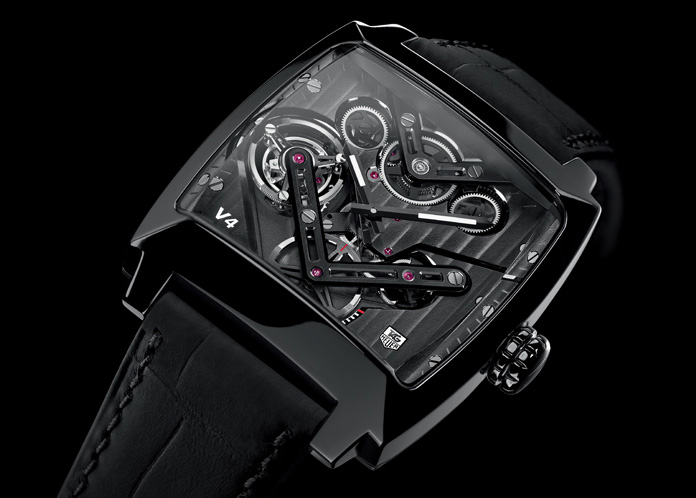 TAG Heuer Monaco V5 Tourbillon Watch