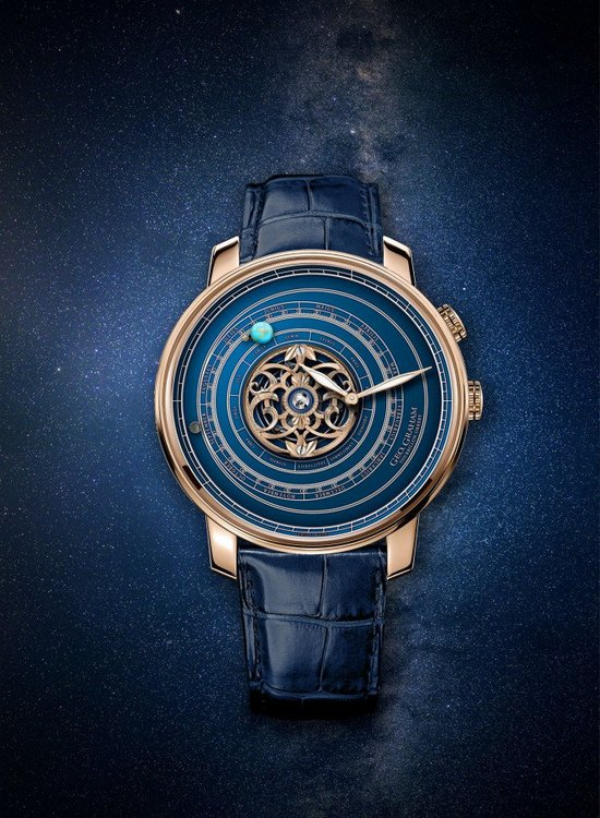 Graham Geo.Graham Orrery Tourbillon Watch