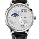A. Lange & Sohne Grand Lange 1 Moon Phase Platinum Watch