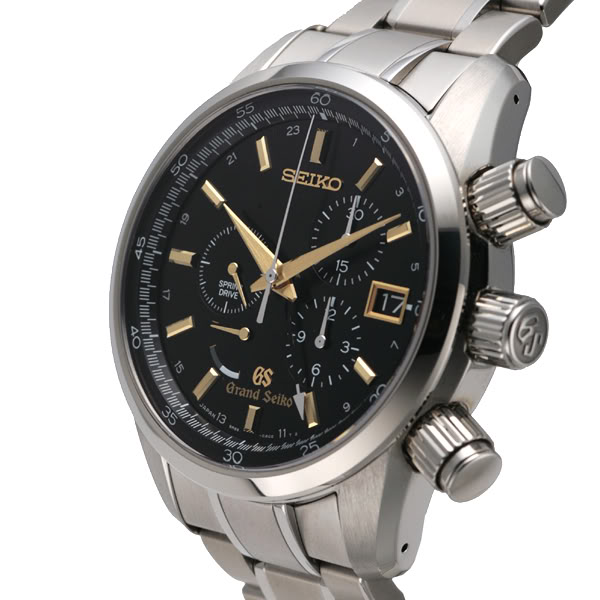 Grand Seiko Spring Drive Chronograph Watch SBGC005