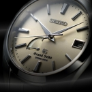 Grand Seiko Spring Drive Titanium Watch dial