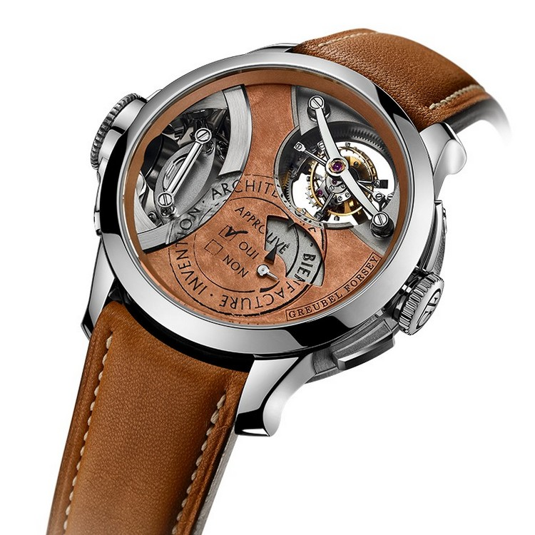 Greubel Forsey Art Piece 2 Edition I Watch Dial
