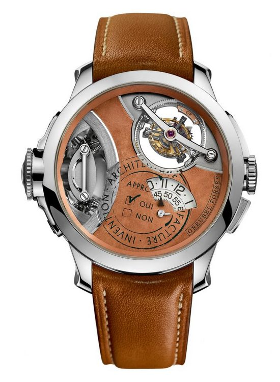 Greubel Forsey Art Piece 2 Edition I Watch Front