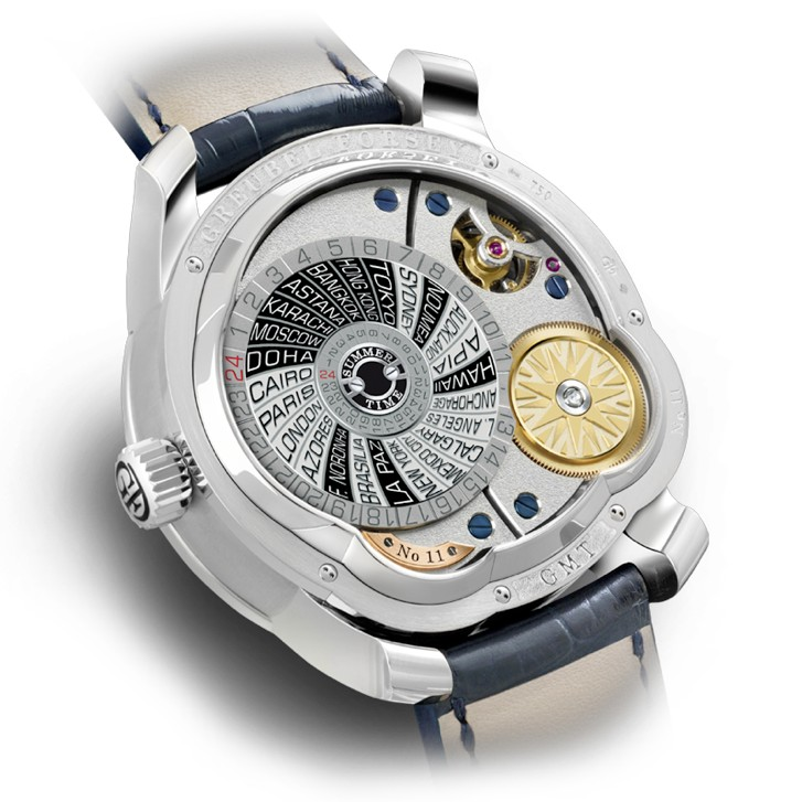 Greubel Forsey GMT Tourbillon Watch Caseback