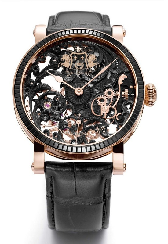 Grieb & Benzinger Black Tulip Sabudha Imperial Watch Front
