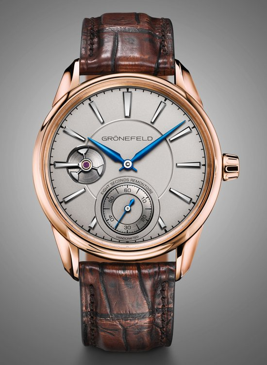 Grönefeld 1941 Remontoire Red Gold Watch Front