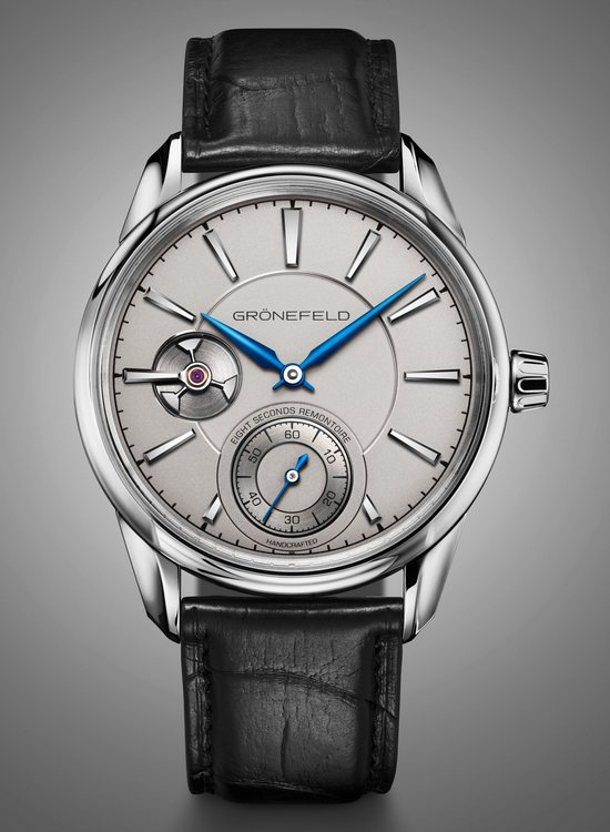 Grönefeld 1941 Remontoire White Gold Watch Front