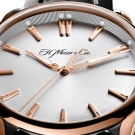 H. Moser & Cie. Pioneer Watch Silver Dial