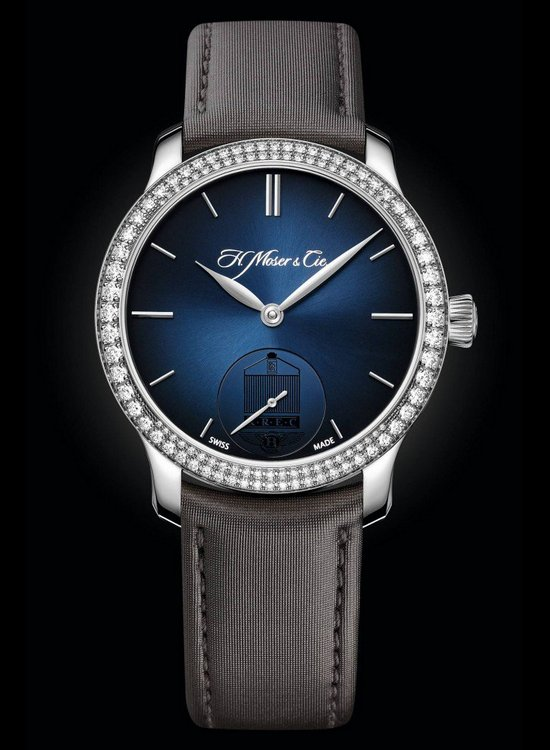 H. Moser & Cie Rolls-Royce Enthusiasts' Club Endeavour Small Seconds Diamonds Watch