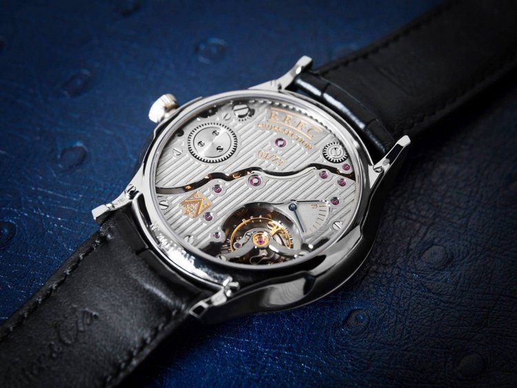 H. Moser & Cie Rolls-Royce Enthusiasts' Club Venturer Small Seconds Watch Case Back